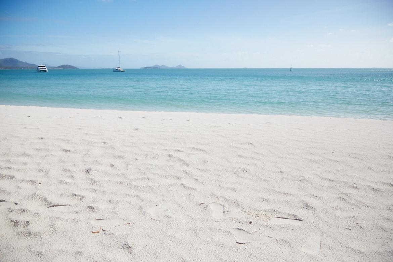 Whitehaven Beach, Whitsunday Islands Tour, Australien, Roadtrip, Miles and Shores, Reiseblog, weißer Sand, Sandstrand, Erfahrungen
