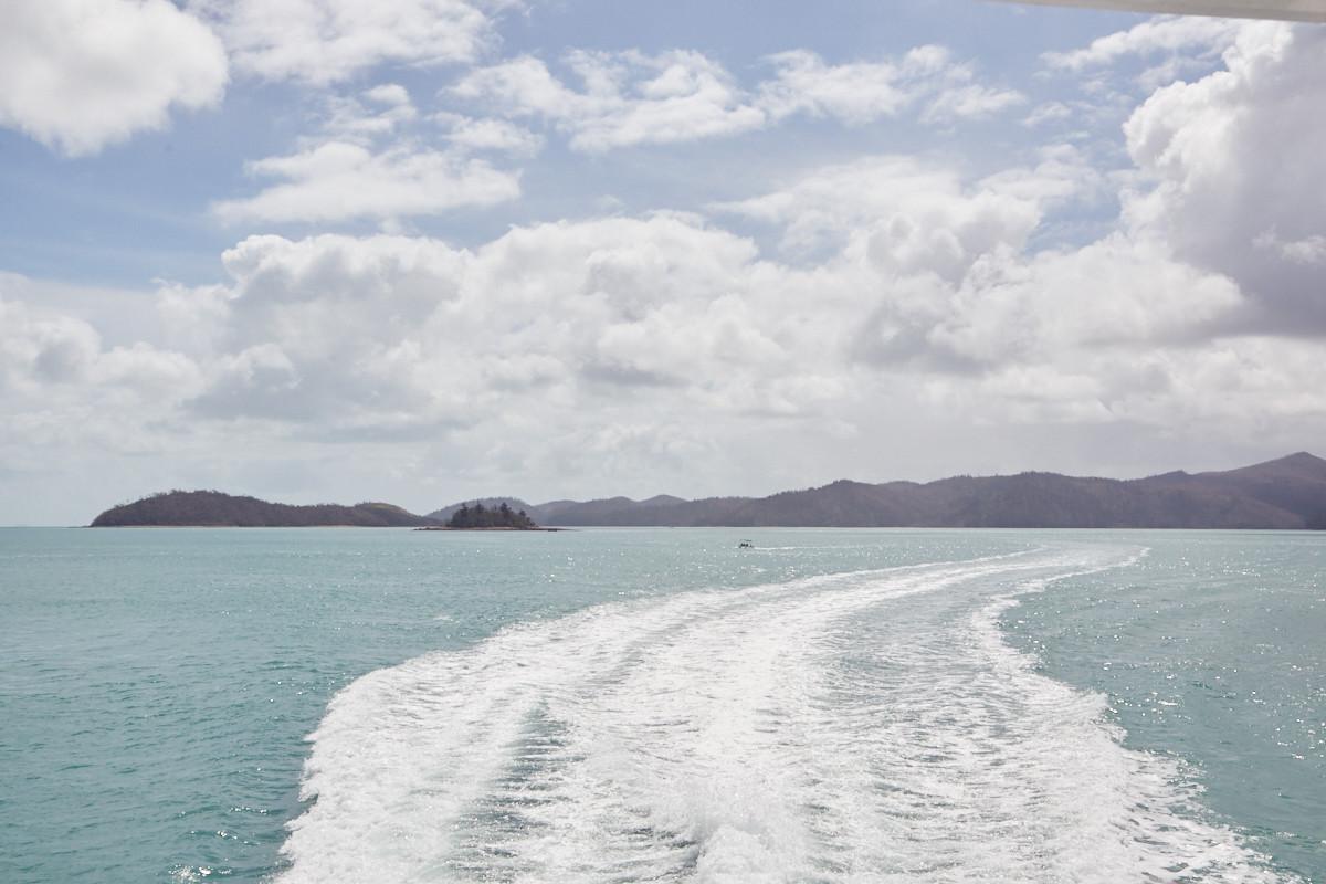 türkieses Meer Whitsunday Islands