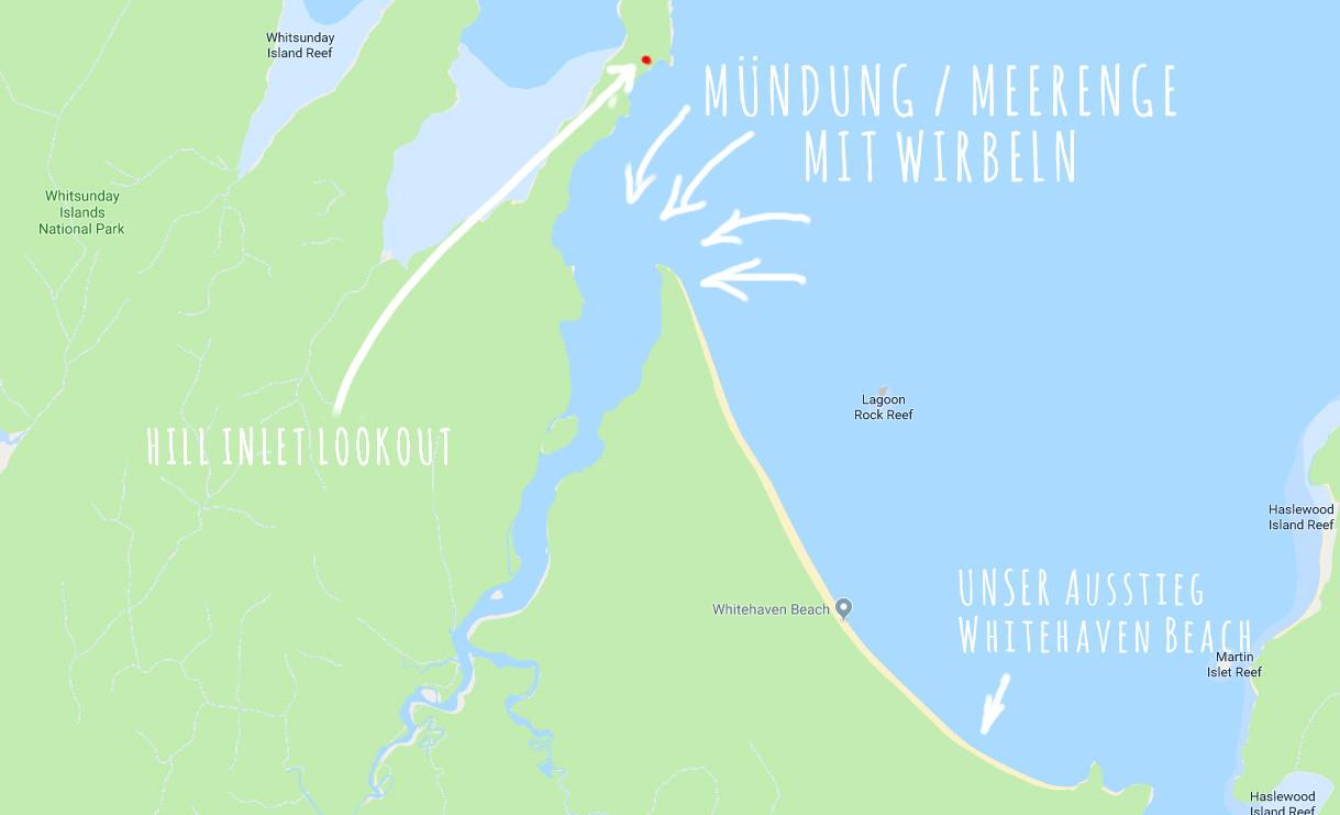 Whitehaven Beach Übersicht, Wo ist was, worauf Achten bei Buchung, Whitsunday Islands, Tagesausflug