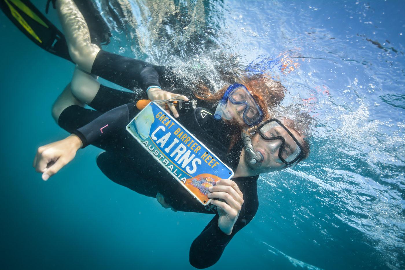 great barrier reef, tusa6, ausflug, tagesausflug, schnorcheln, riff, rifftour, bootstour, bootsfahrt, australien, cairns