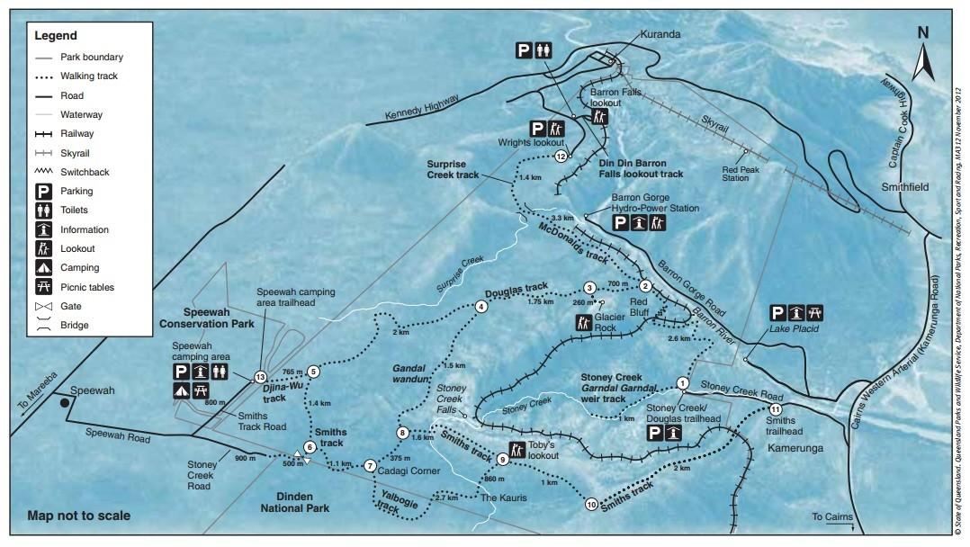 Barron Gorge; Nationalpark; National Park; Miles and Shores; Reiseblog; Travelblog; Australien; Roadtrip; Australien Roadtrip; Rundreise; wandern