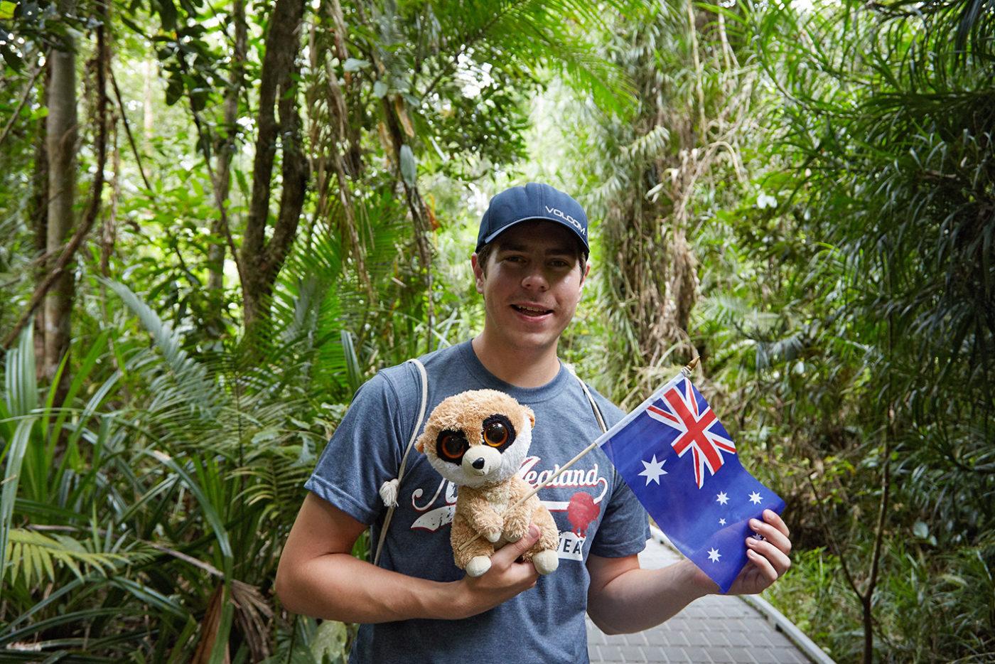 daintree nationalpark, ed, ed das erdmännchen, milesandshores, miles and shores, reiseblog, travelblog, australien