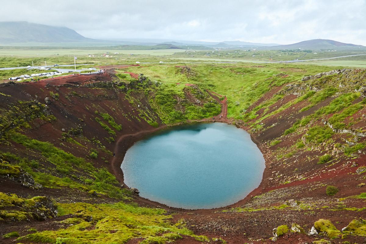 Lake Kerid, Golden Circle, Island, Iceland, Roadtrip, roundtrip, rundreise, reiseblog, reiseblogger