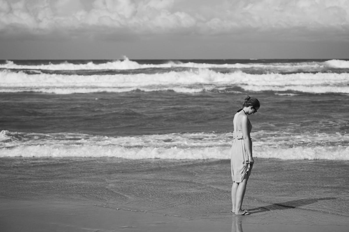 Australien, travel, travelblog, reiseblog, Erfahrung, Erfahrungsbericht, Miles and Shores, traurig, sad, beach, Strand