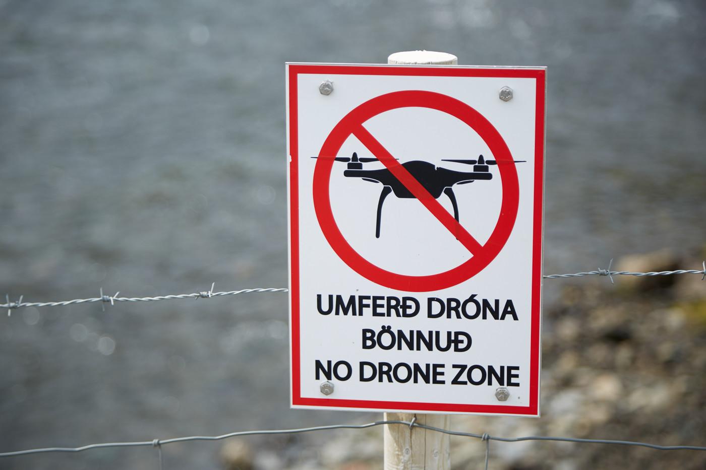Island, Drohnen Verboten, Drohnen, Flugverbotszone, No Drones, No Drone Zone, Iceland