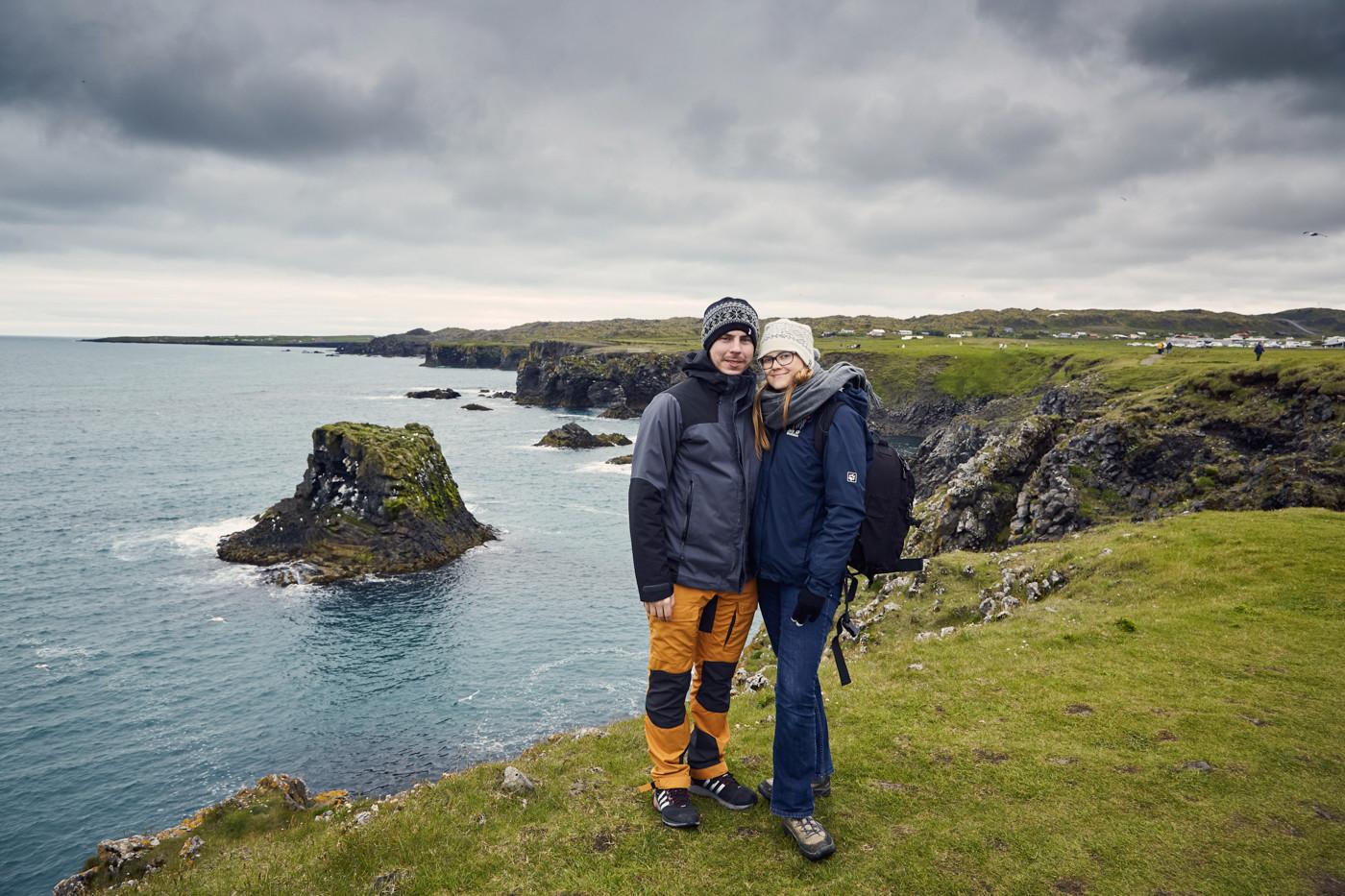 Chrisi und Ronnie, Reiseblogger, Miles and Shores, Anarstapi, Snaeffelsnes, Island, Iceland