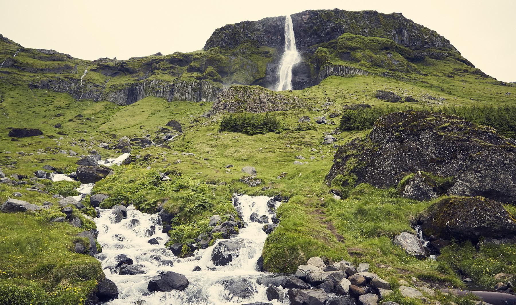 Snaeffelsnes, Geheimtipp, Sheeps Waterfall, Sheep's waterfall, Island, Iceland, Roadtrip, Urlaubsplanung, Urlaub, Rundreise, Tagesausflug