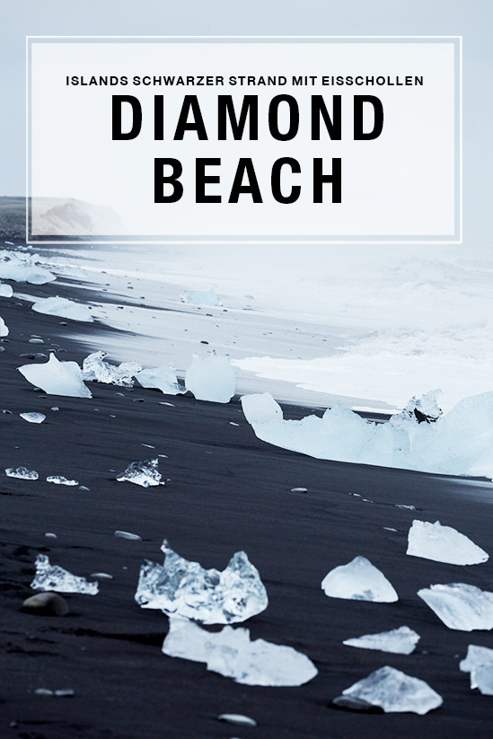 diamond beach, iceland, island, miles and shores, reiseblog, rundreise, travelblog, brandung, meer, eisscholle, eisbrocken, gletschereis