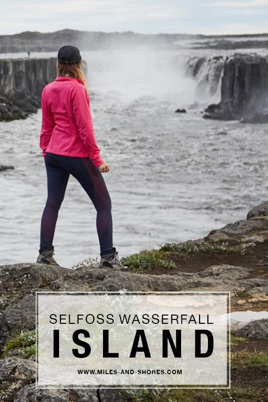 Der Selfoss Wasserfall kann gleich mit dem Dettifoss Wasserfall mit besucht werden, ein wunderschöner Tagesausflug von Akureyri in Island
