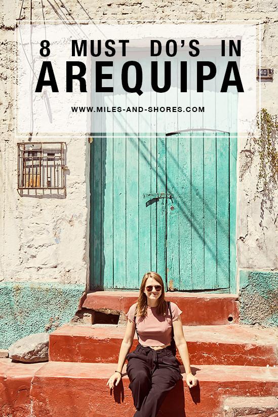 Wir haben für dich 8 tolle Dinge, die du in Arequipa unbedingt machen oder sehen solltest. In Peru's weißer Stadt kann man sich ruhig einige Tage Zeit nehmen, um sich zu akklimatisieren. Dabei gilt Arequipa zu dem als eine der schönsten Städte von Peru. Zu Recht, wie wir finden! Bei jeder Peru Reise sollte diese Stadt mit auf dem Plan stehen und wir sind sehr froh, dass wir sie bei unserem Roadtrip zweimal besucht haben!