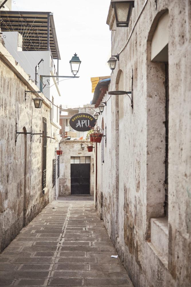 Eindrücke aus dem Viertel San Lazaro in Arequipa. Wir zeigen dir 8 must see things in Arequipa, Peru