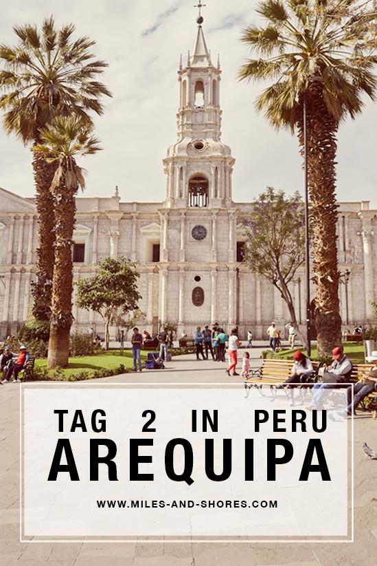 Unseren zweiten Tag in Arequipa haben wir im Stadtteil Yanahuara verbraucht. Außerdem waren wir beim berühmten San Camilo Markt und im Kloster Santa Catalina, welches bei einem Peru Urlaub auf alle Fälle besucht werden sollte! Für mich ein wahres Highlight! #peruurlaub #perureise #arequipa