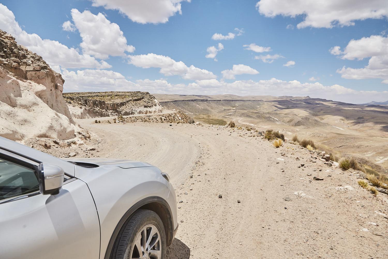 Die Straßen im Nationalpark Salinas y Aguada Blanca sind nicht für jedermann aber im Grunde genommen gut zu fahren. Das Auto waschen muss man aber nachher auf alle Fälle