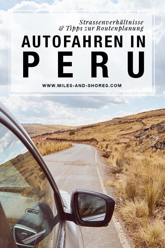 Wir wollten Peru unbedingt selbst mit dem Auto entdecken. Deshalb haben wir in diesem Artikel alles zum Autofahren in Peru zusammengefasst. Hier findest du Infos über Verkehrsregeln, das Selbst fahren in der Praxis, Zustände der Straßen, Tankstellennetz, Polizeikontrollen, Grenzübertritte mit dem Mietauto und Tipps zur Mietwagenbuchung und Streckenplanung. Außerdem haben wir ein Video von unseren Fahrten erstellt, wo man die Zustände der Straßen unserer Reise sieht. #perureise #mietwagenperu