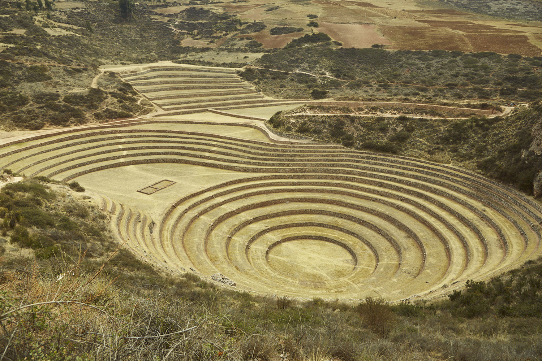Moray, Heiliges Inka Tal in Peru