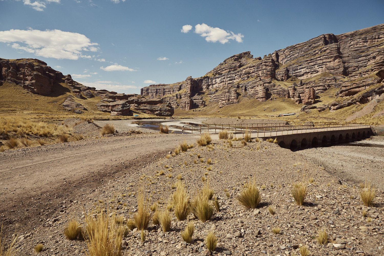 Die Offroadstrecke auf dem Weg von Puno nach Cusco