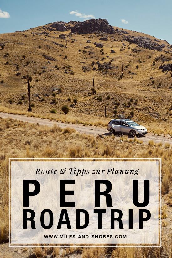 Es geht nach Peru! Darum musste auch die ultimative Peru Roadtrip Route gefunden werden! Die gesamte Route & Tipps zur Planung deines Roadtrips findest du auf unserem Blog. Außerdem haben wir kurz zusammen gefasst, worauf du bei der Mietwagenbuchung acht geben solltest. Einer der schönsten Teile der Route war eine recht unbekannte Offroadstrecke.