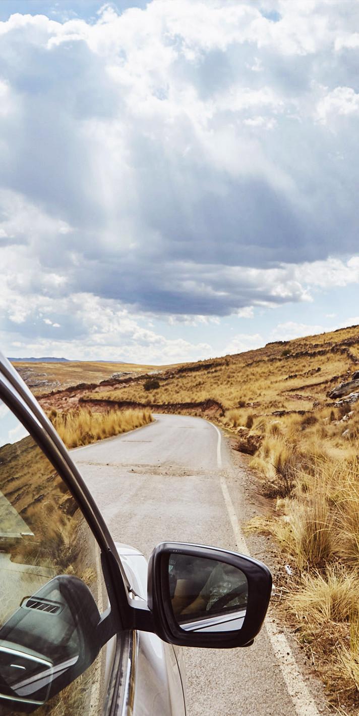 Tipps und Tricks zur Planung deiner Route in Peru, Vorbereitung auf den Peru Roadtrip und das fahren mit dem Mietauto in Peru. Hier die Strecke von der berühmten Rope Bridge nach Espinar. Viele Schlaglöcher und marode Schotterpiste