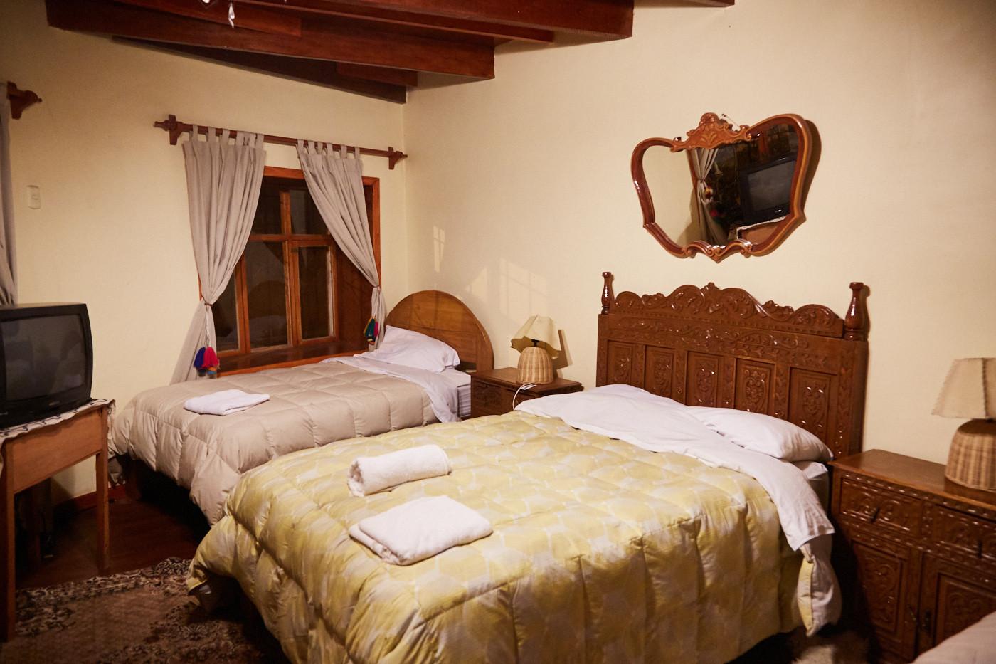 Von 'Mamma' bekocht und in einem Zimmer wie ein König schlafen! Diese Unterkunft in Peru war definitiv ein besonderes der 9 Hotels in Peru