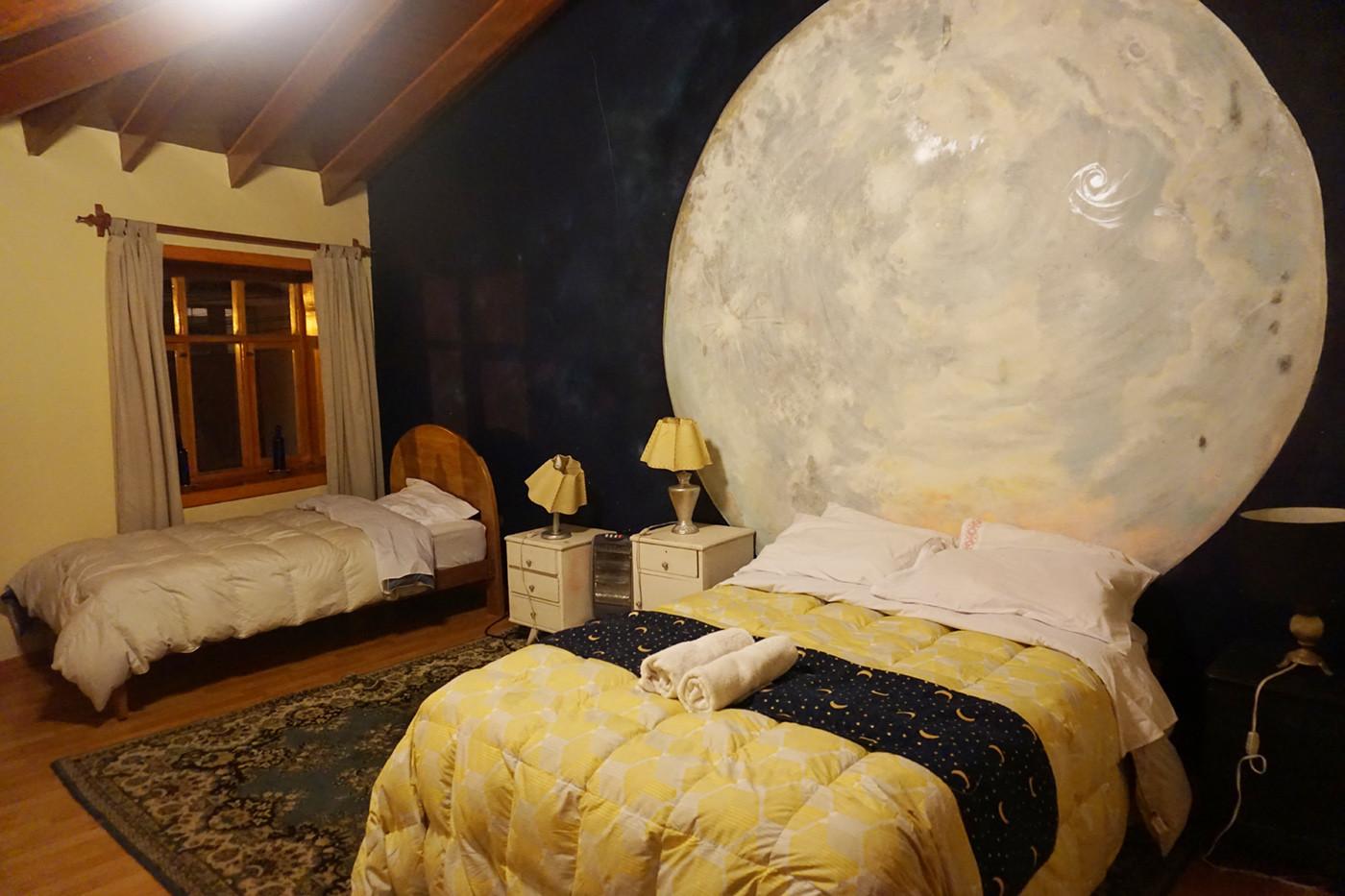 Zimmer in Airbnb Lodge in Cusco, Peru. Für uns war es toll, auch in Peru in einer Airbnb Unterkunft zu verbringen