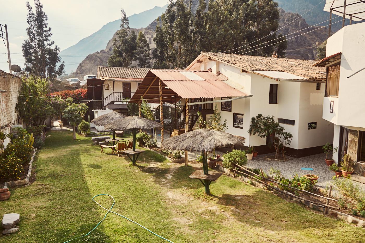 sehr schönes Hotel in Ollantaytambo, nur ein paar Gehminuten vom Bahnhof nach Machu Picchu entfernt