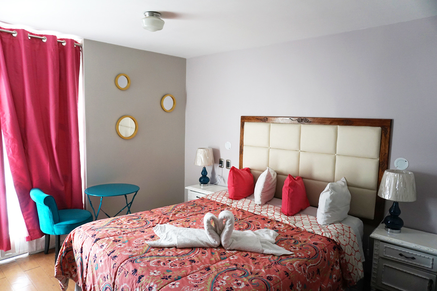 Das Hotelzimmer im Wayra B&B Hotel in Arequipa