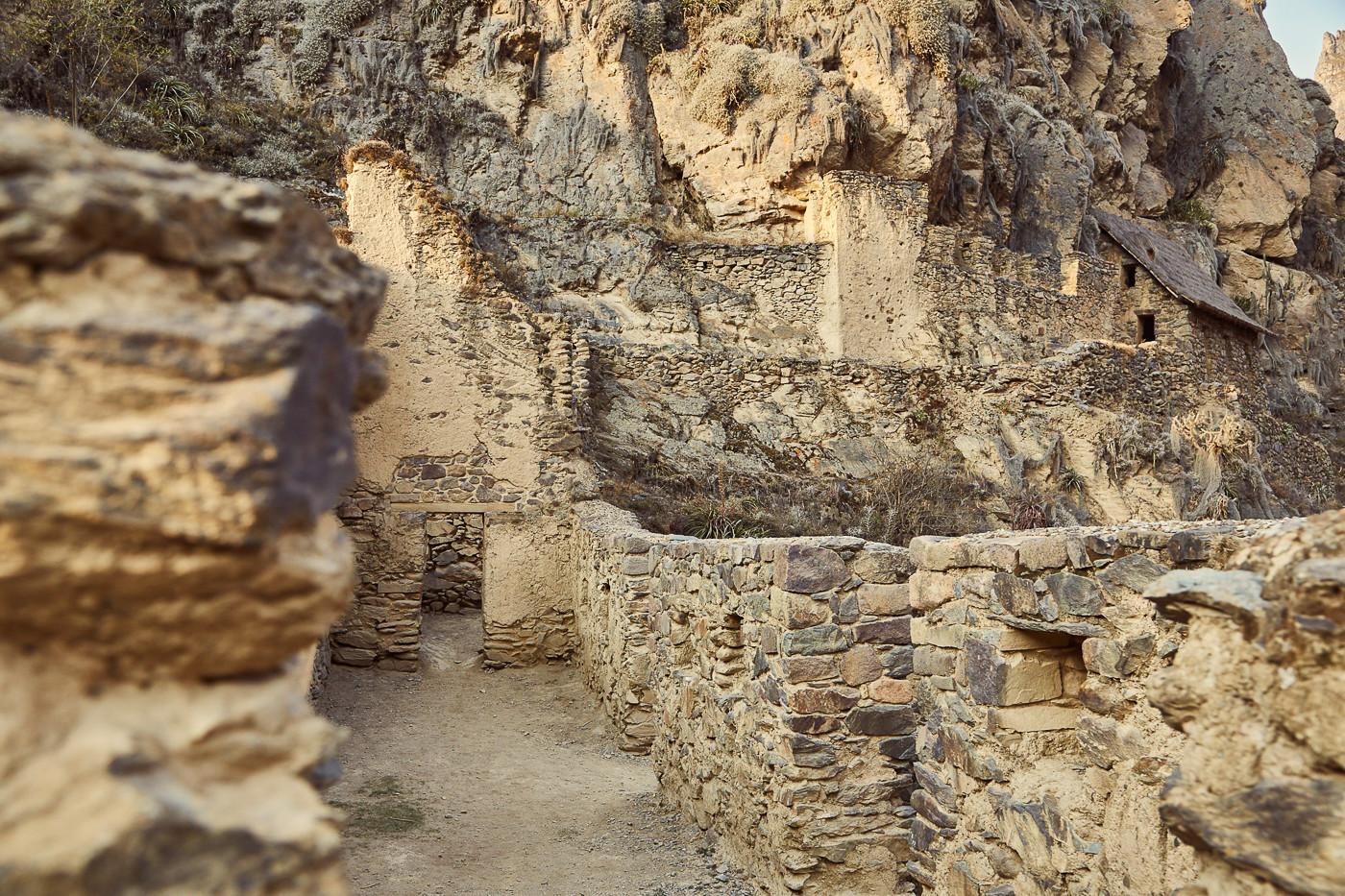 Die Inka Festung von Ollantaytambo ist noch immer sehr gut erhalten und nicht so stark besucht wie Machu Picchu