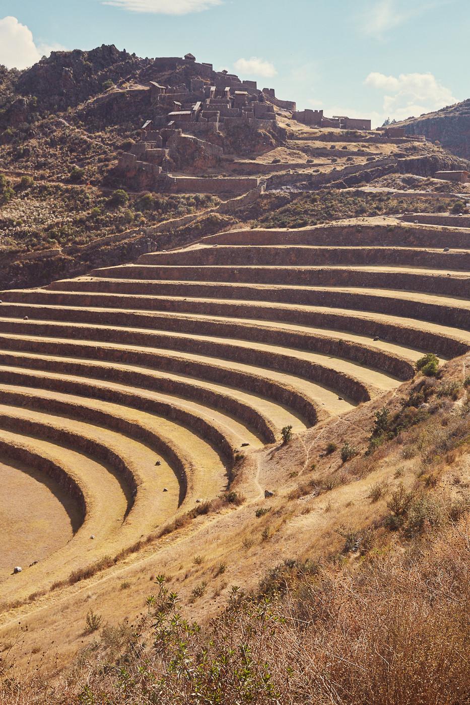 Ausblick auf die Ruinen von Pisac, sie sollten auf jeden Fall auf deine Peru Bucketlist