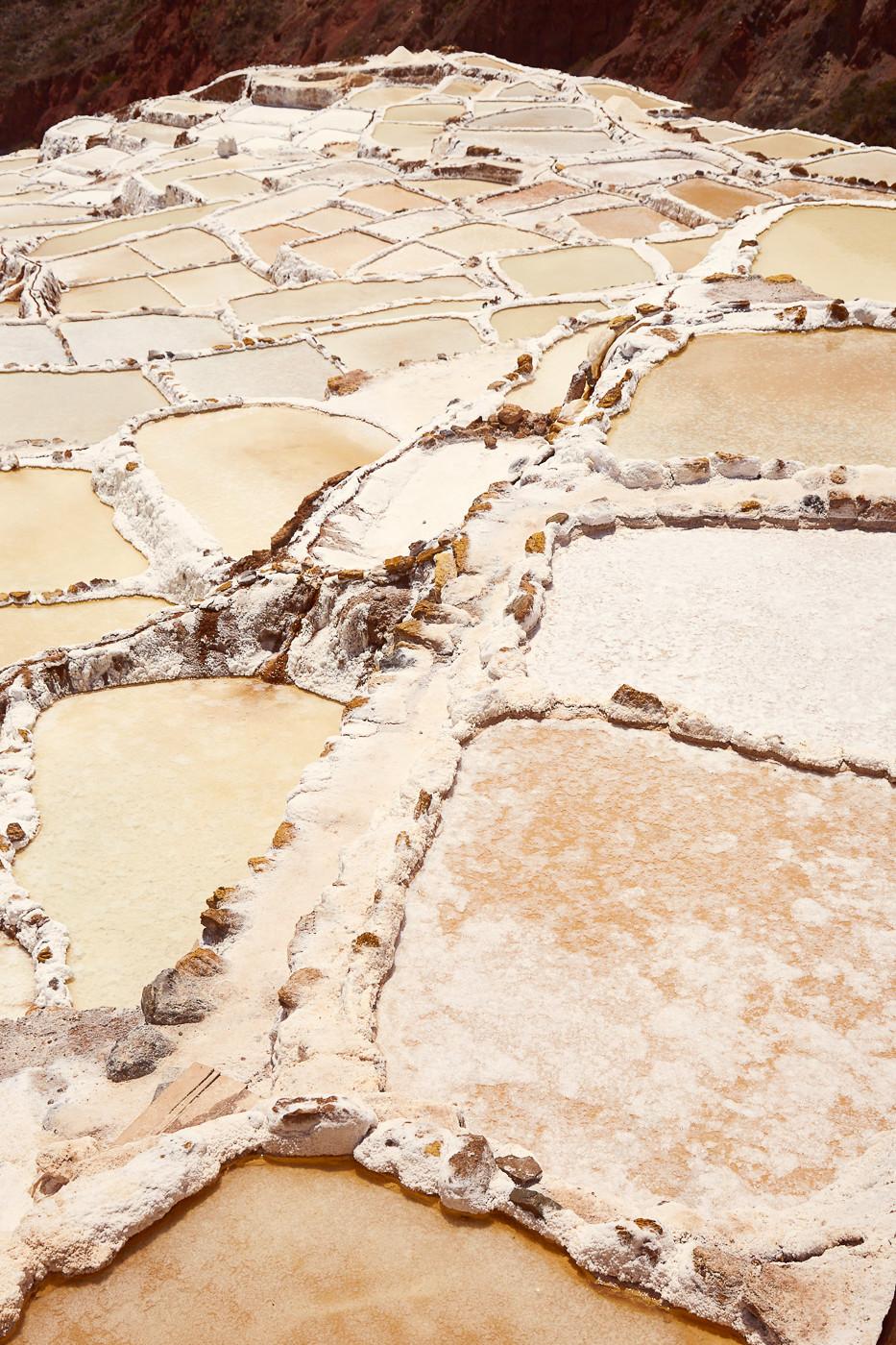 Die Salzmine ist immer noch in Betrieb, man kann auch das hier angebaute Salz an Ständen erwerben