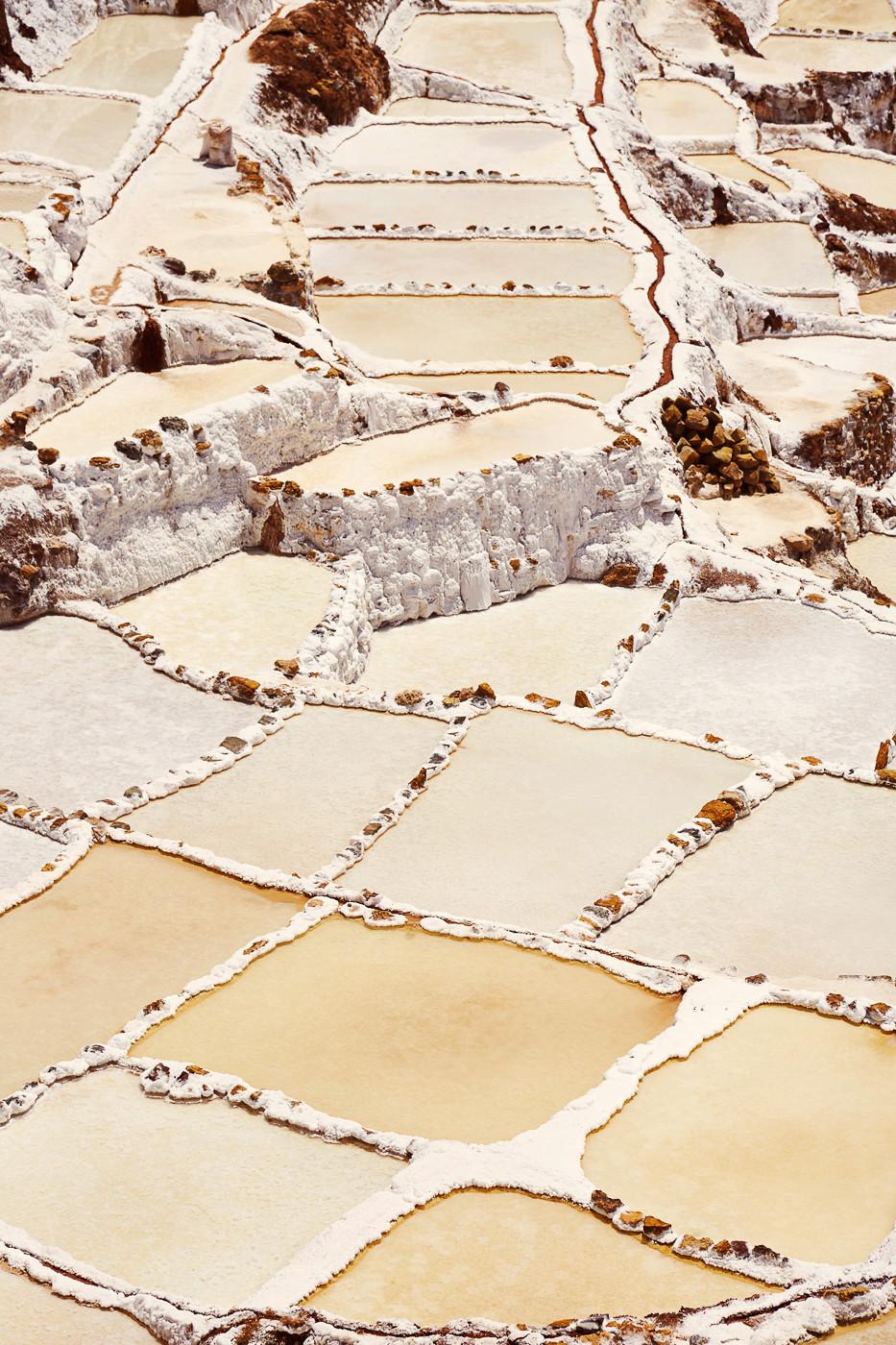 Die Marineras de Maras im Sacred Valley in Peru