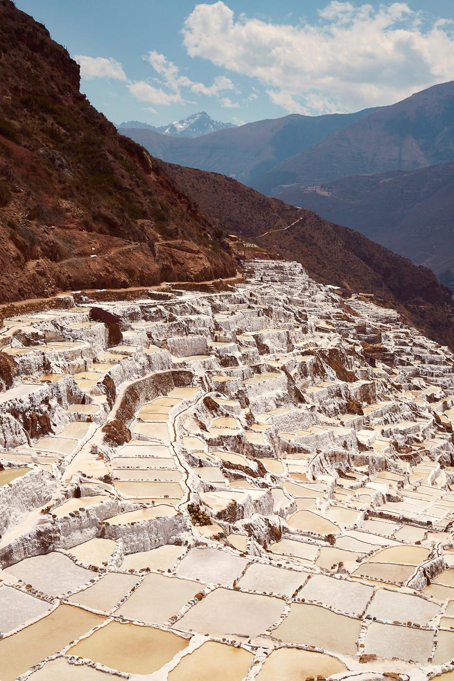 Die Salineras de Maras, die Maras Salzmine gehört zu unseren 4 Highlights im heiligen Tal der Inka in Peru