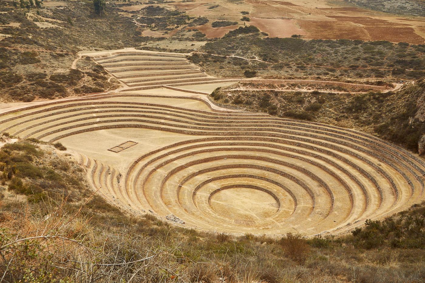 Moray im heiligen Tal der Inka in Peru sollte auf jeder Bucketlist stehen
