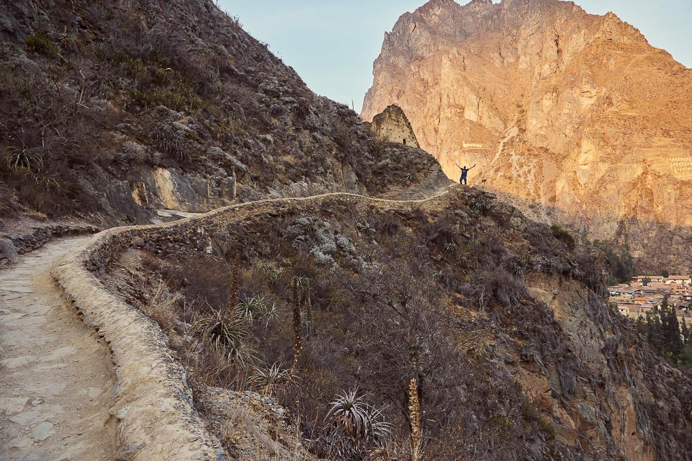 Sonnenuntergang im Heiligen Tal der Inka