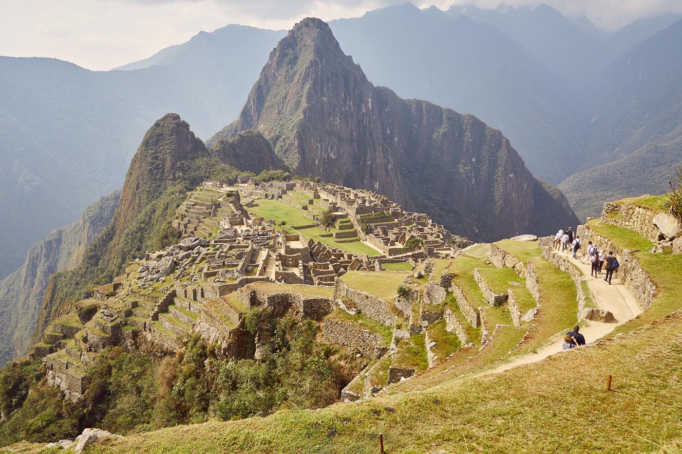 Machu Picchu, das UNESCO Weltkulturerbe Perus