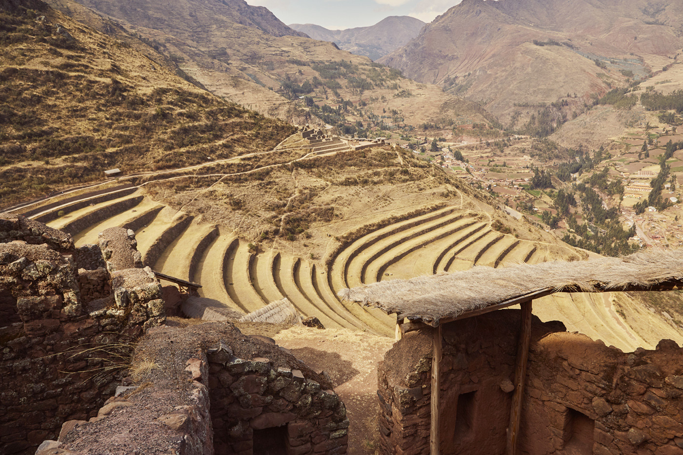 Die Ruinen von Pisac befinden sich im Heiligen Tal der Inka in Peru, für mich waren sie eines der Highlights in unserem Peru Urlaub