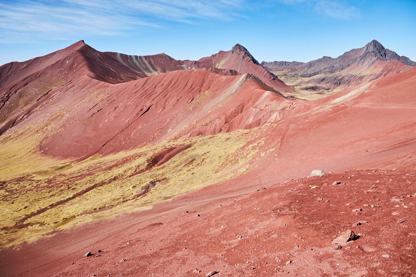 Das Red Valley in Peru war mir bei unserer Reise besonders wichtig