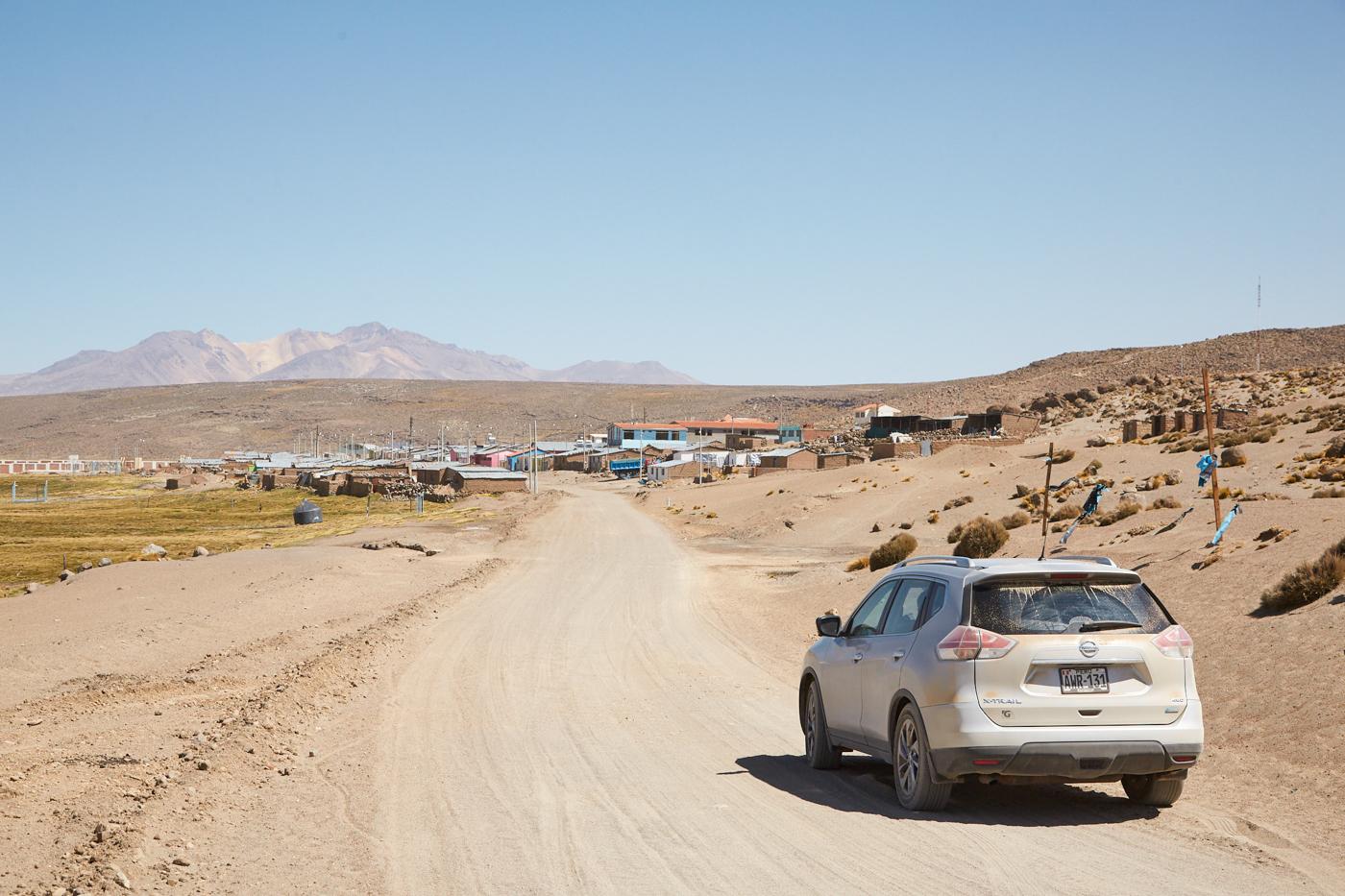 Der Ort Ceneguillas im RReserva Nacional de Salinas y Aguada Blanca